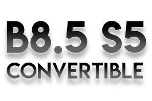 Audi B8.5 S5 Convertible