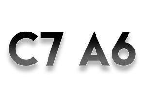 Audi C7 A6 2012-PRESENT