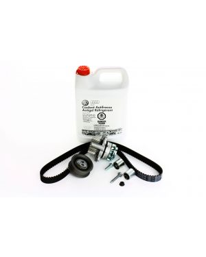 2.0t FSI Timing Belt Kit with Metal Impeller Water Pump and Coolant