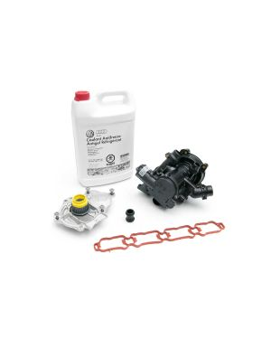 Thermostat and Water Pump (MQB 1.8t and 2.0t) w/ Install Kit - 06L198111M