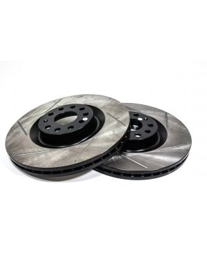 Slotted Front Brakes Rotors for MK7 Golf R| PP GTI | Audi S3