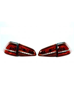 Cherry Red Magneti Marelli MK7 LED Tail Lights