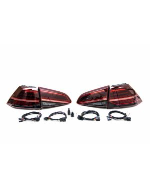 MK7.5 Facelift LED Tail Lights with Dynamic Turn Signals and DAP Harness