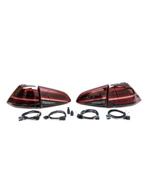 MK7 to MK7.5 Facelift LED Tail Lights with Dynamic Turn Signals and DAP Harness