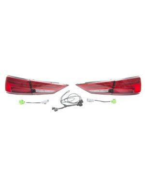 8V.5 to 8V.5 LED Tail Lights with Dynamic Turn Signals and DAP Harness - 8V5998091AB