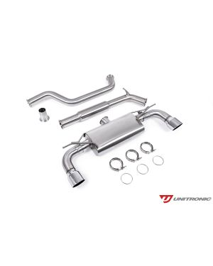 UNITRONIC CAT-BACK FOR MK7.5 GTI, CHROME TIPS