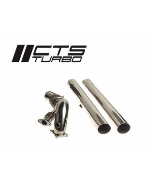 CTS Turbo MK5/MK6 GTI TSI/FSI Big Turbo Downpipe