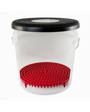 Chemical Guys DIRTTRAP - Cyclone Dirt Trap Car Wash Bucket Insert RED