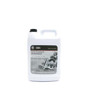 G13 Coolant (Pink) 1 Gallon - 50/50 Ready to Use - GA137741GDSP - Genuine Volkswagen/Audi