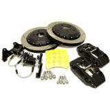 Forge Motorsport - 330MM REAR BRAKE KIT WITH HYDRAULIC OEM CABLE OPERATED HANDBRAKE