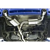 """CTS Turbo VW MK4 R32 3"""" Cat-back Exhaust"""