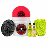 Chemical Guys HOL127 - Wash and Wax Detailing Bucket Kit (6 Items)