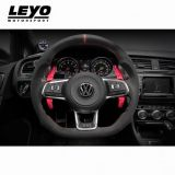 LEYO Motorsport-Paddle Shift Extensions - Red (With Raised Lip)