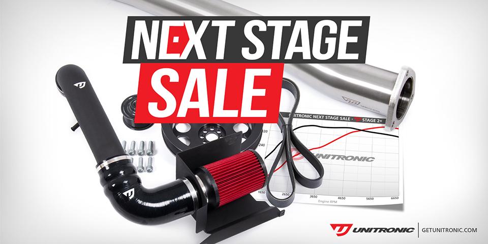 Unitronic Next Stage Sale!