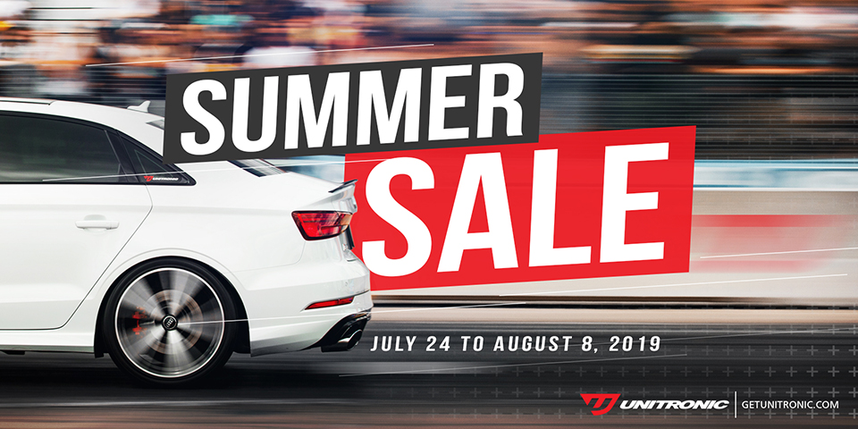 Unitronic Summer Sale 2019!