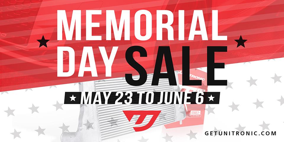 Unitronic Memorial Day Sale 2019!