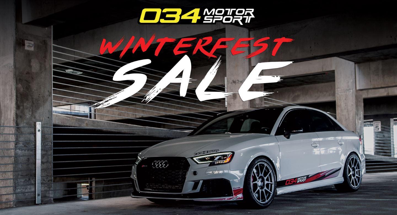 034Motorsport WinterFest Sale!