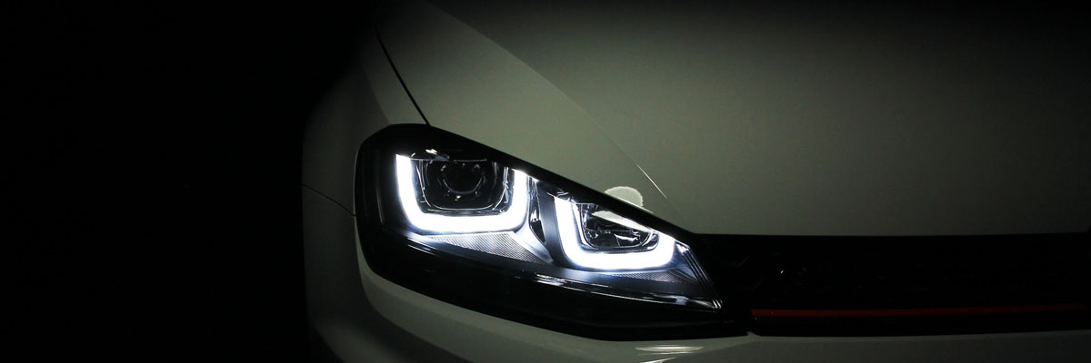 MK7 GTI and Golf Headlights     Get LED DRLs on your Halogen