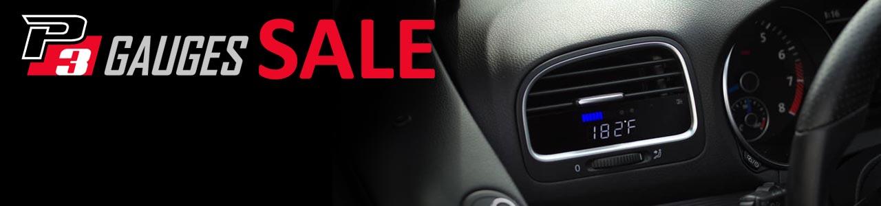 P3 Gauges - Black Friday Sale