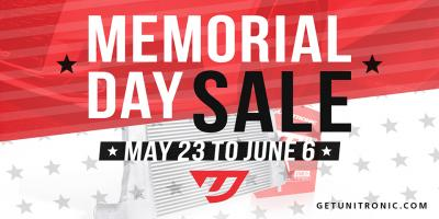 Unitronic Memorial Day Sale 2019!