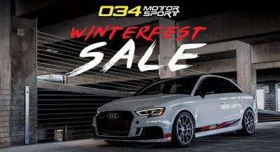 034Motorsport WinterFest Sale!