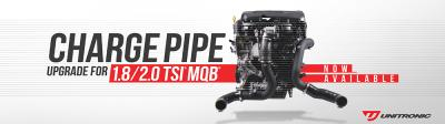 Unitronic's Charge Pipe Upgrade Kit for the 1.8/2.0 TSI GEN3 MQB engines