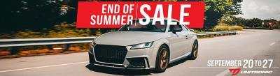 Unitronic End of Summer Sale 2018
