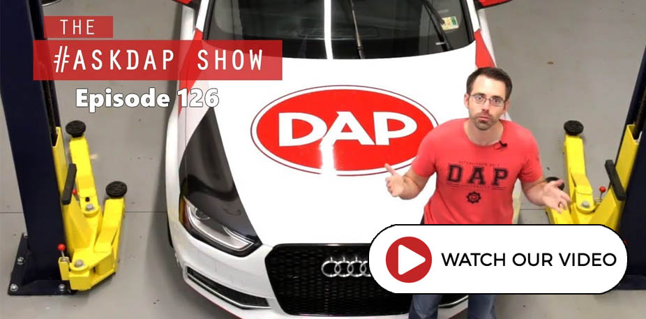 VW and Audi Questions on AskDAP 126