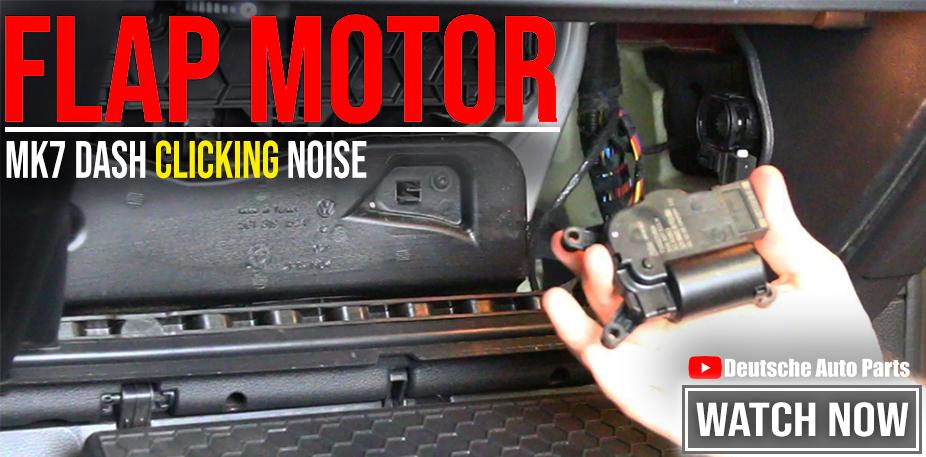 MK7 HVAC Flap Motor