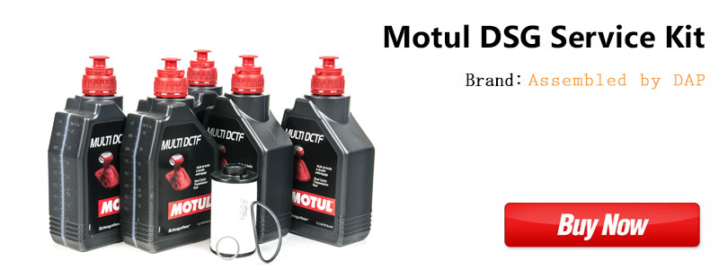 Golf R Motul DSG Service Kit