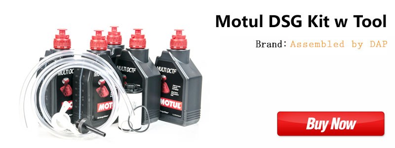 MK7 DSG Oil Service Kit with Tool Motul