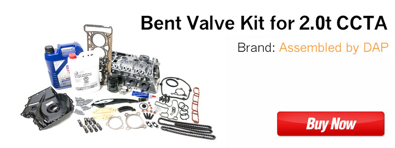 2.0t TSI CCTA Cylinder Head Bent Valve Kit