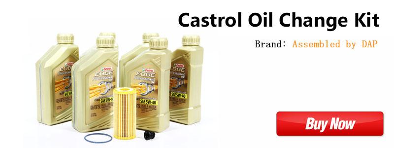 MK7 Castrol Oil Change Kit