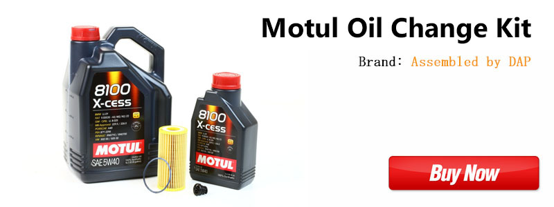 MK7 Golf R Motul Oil Change Kit