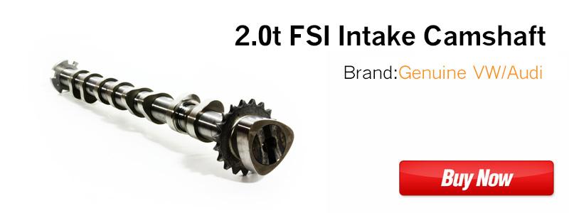 2.0t FSI Intake Camshaft 06F109101J