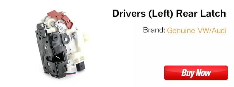 3B4839015AP Drivers Rear VW Door Latch