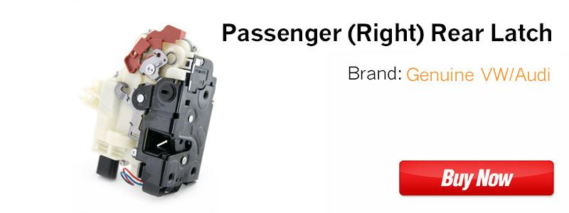 3B4839016AP Passenger Rear VW Door Latch