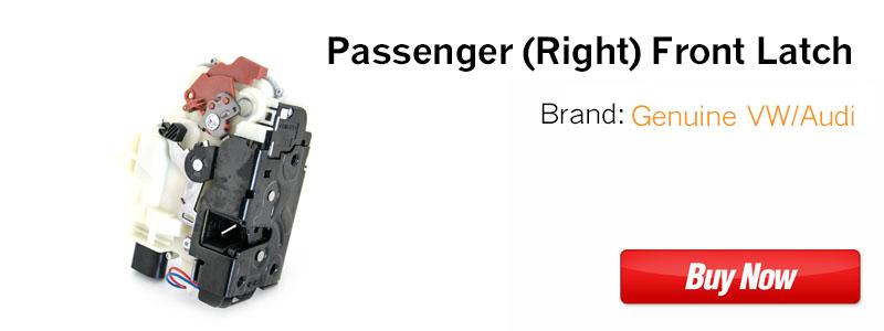 3B1837016CG Passenger Front VW Door Latch Assembly