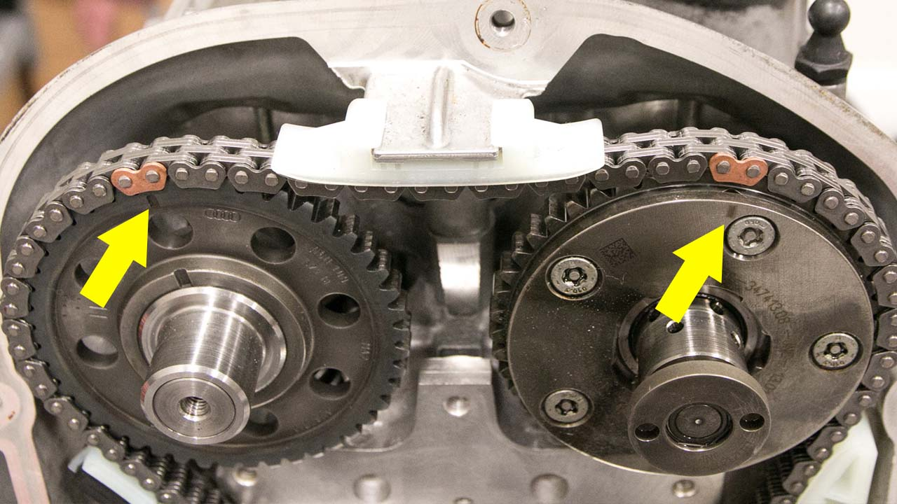 Camshaft Timing Marks for 2.0t TSI - VW | Audi