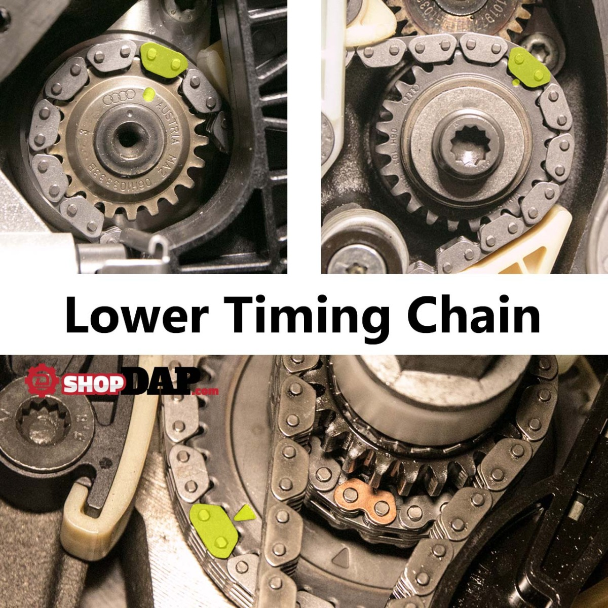 TSI Lower Timing Chain Timing Marks - VW | Audi