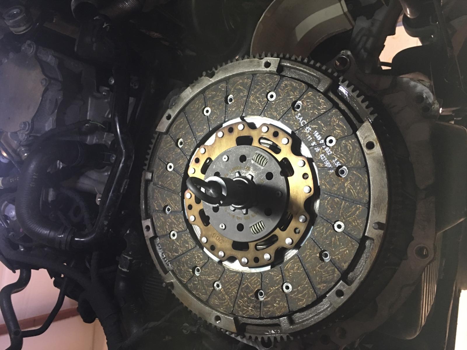 Audi TTRS Clutch Disc on MK7