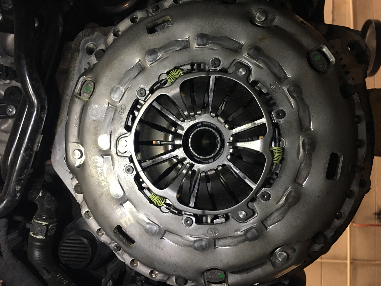 Audi TTRS Clutch Kit Install on MK7