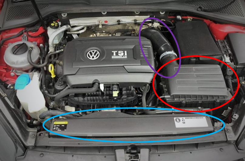 Mk7 Intake System Components