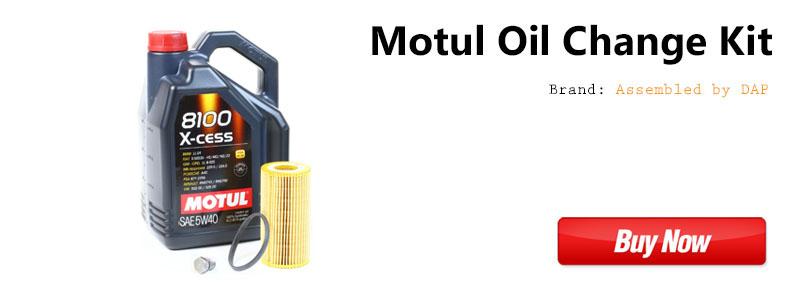 VW MK5 2.0t FSI Motul Oil Change Kit
