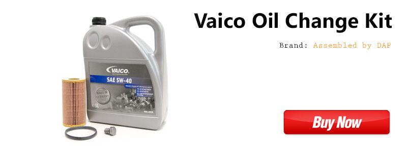 VW MK5 2.0t FSI Vaico Oil Change Kit