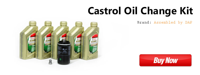 VW CC 2.0t TSI Castrol Oil Change Kit
