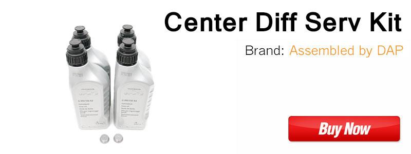 Audi Center Differential Service Kit