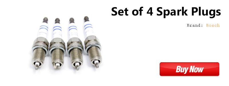 VW CC 2.0t TSI Bosch Spark Plug Set