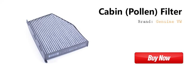 OEM VW Cabin Filter 1K1819653B